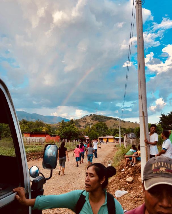 Pueblo Nuevo Double Rainbow